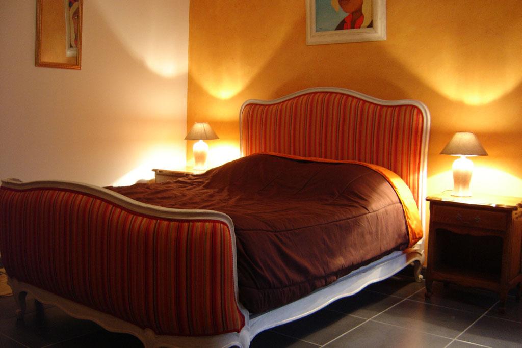 Chambre ecureuils - Grand lit double 200x200 ...